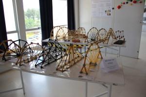 Competição de estruturas em treliça de espaguete